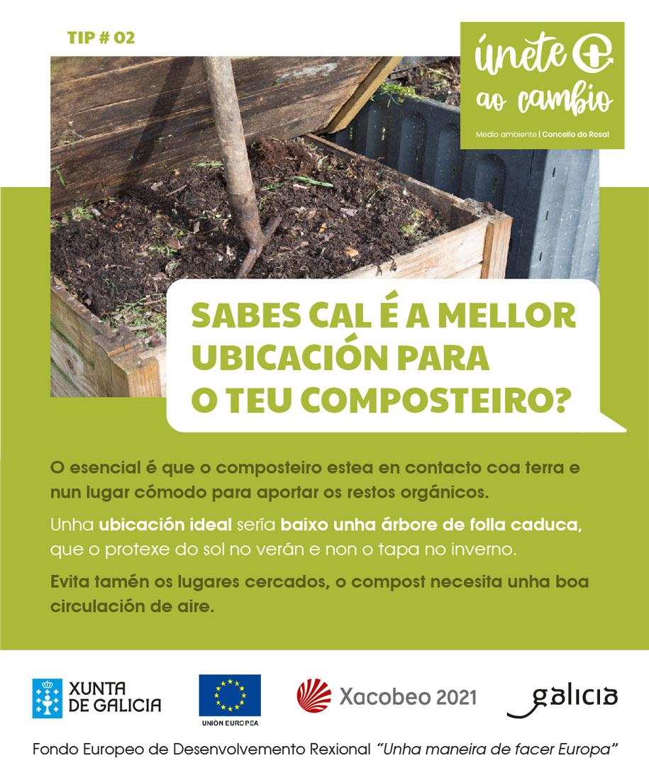 O Rosal aproba a licitación de 500 composteiros individuais para repartir entre a veciñanza